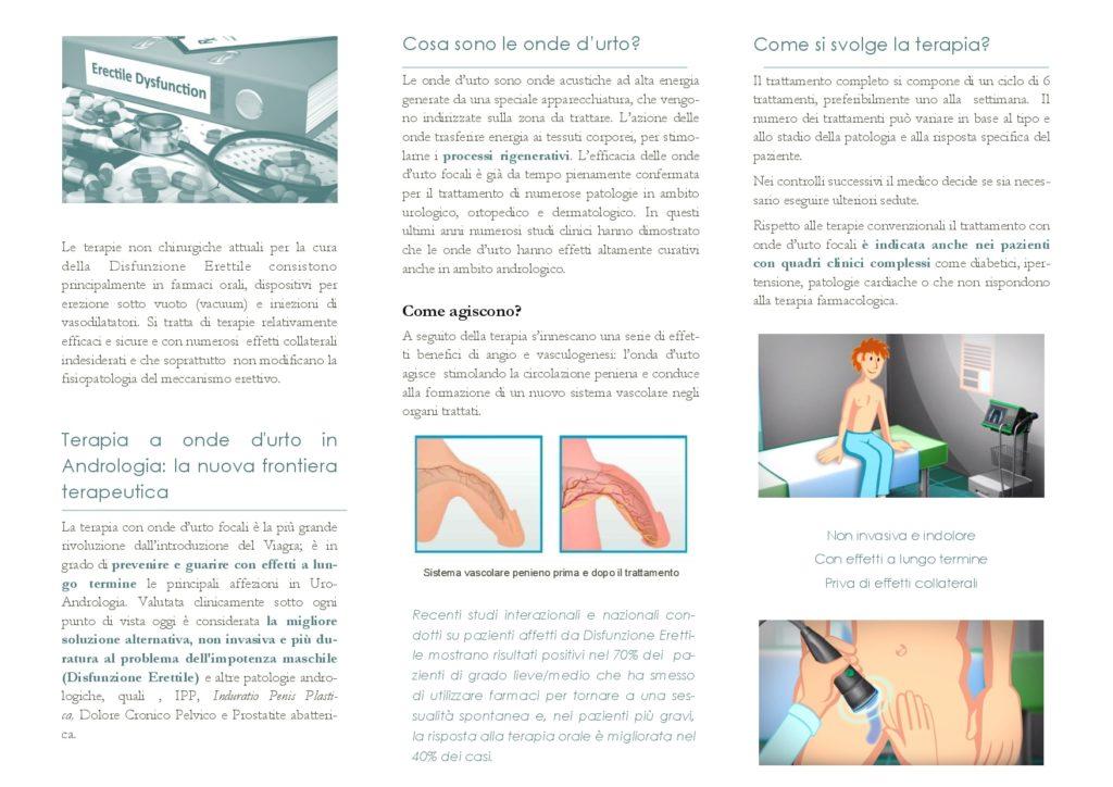 terapia onde d'urto pacini milano urologia