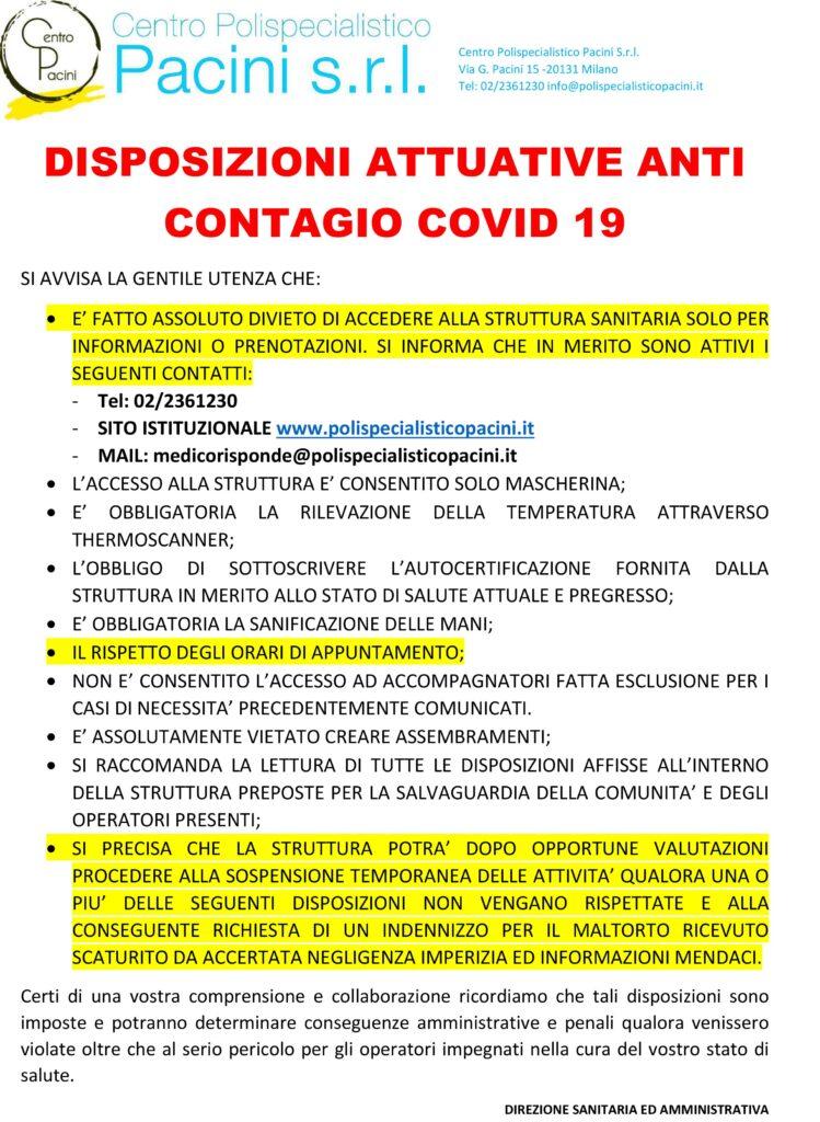 accesso covid-19